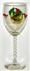 Williamsburg Wreath White Wine Glass