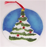 Christmas Tree 7 inch Suncatcher
