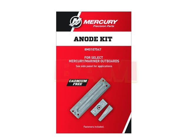 New OEM Mercury Prop Nut Anoid Kit 809664A1