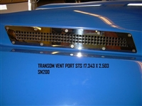 VENT TRANSOM PORT STS 17.343 X 2.503 SN200