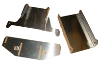 Unpolished 3 Pc Hydrogate Transom Assembly for SN200 Nautique - 100155