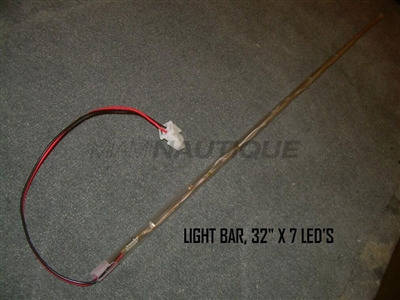 "LIGHT BAR 32"" X 7 LED'S"