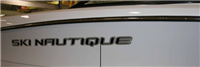 DECAL SKI NAUTIQUE BLACK DOMED 64.59 X 5.77 100252