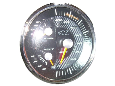 GAUGE 5   3-IN-1 KMH SPEEDOMETER  FUEL VOLTMETER SN200210 SE