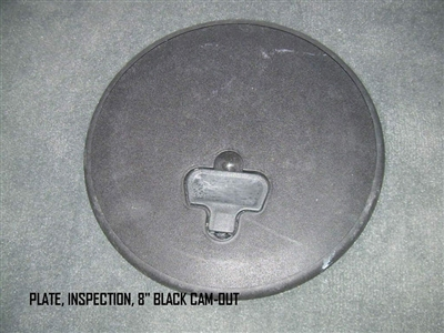 PLATE INSPECTION 8   BLACK CAM-OUT