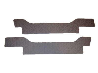 NON-SKID BOW CUSHION STRIP GREY LOGO 100375