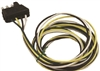 Sierra WH10003 Trailer Side 4 Pole Flat Connector Shrouded 25' Rewire Kit
