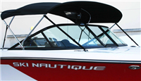 "NAUTIQUE BIMINI TOP 30"" HEIGHT SKI & SPORT 200 BLACK - 110190"