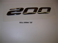 "DECAL CHROMAX ""200"" 110240"