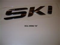 "DECAL CHROMAX ""SKI"""