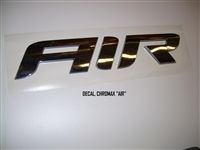"DECAL CHROMAX ""AIR"""