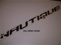 "DECAL CHROMAX ""NAUTIQUE"""