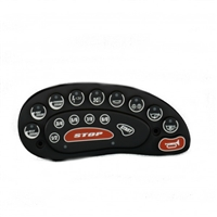KEYPAD INSTRUMENT POD WITHOUT BEZEL (10 min. timer) 196/206/216/210/211 2003-05