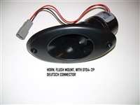 HORN FLUSH MOUNT WITH DT04-2P DEUTSCH CONNECTOR