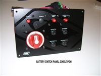 BATTERY SWITCH PANEL SINGLE PDM