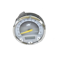 TACHOMETER, FARIA WITH SILVER BEZEL - 1234