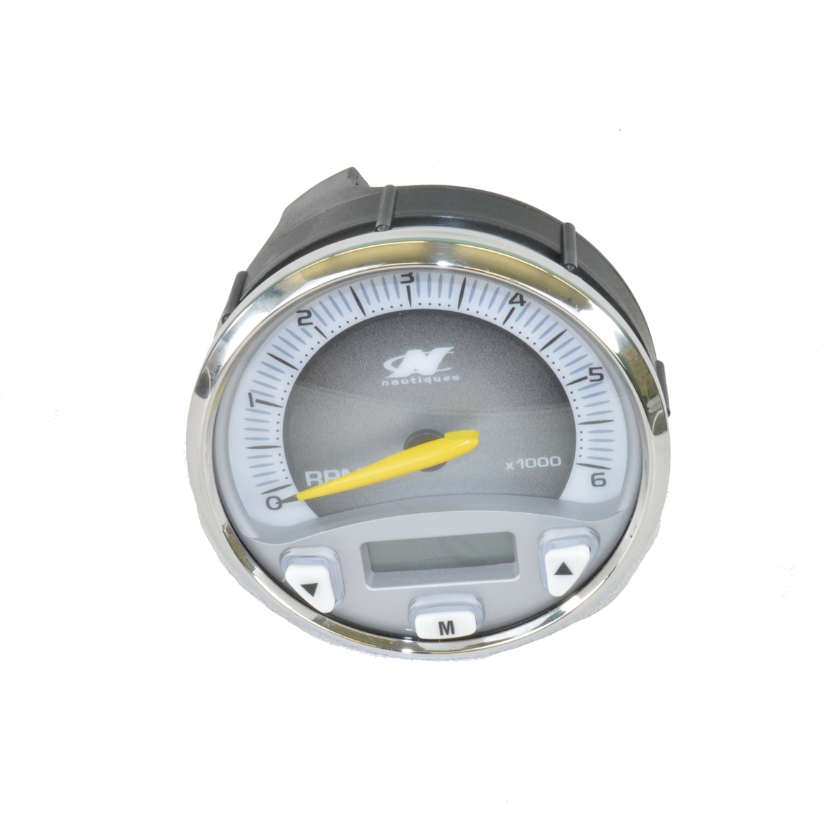 Faria Nautique Replacement Tachometer Gauge With Silver Bezel Model Wiring View Larger Photo