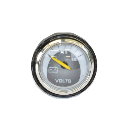"Faria 2"" Voltmeter Gauge with Silver Bezel for 2003-2006 Nautiques - 1242"