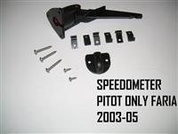 PICK UP TUBE, SPEEDOMETER PITOT ONLY FARIA 2003-2005 - 1250