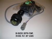"BI-DUCER DEPTH-TEMP 20 DEG. TILT 30"" LEADS - 130015"