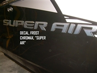 DECAL FROST CHROMAX SUPER AIR 130086