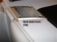 HELM COVER PLATE STBD