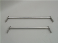 WINDSHIELD STANCHION SET 11 1/2 9 3/4IN. POLISHED STS SKI & SPORT 150067