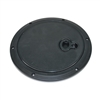 INSPECTION PLATE, BLACK, LARGE FOR NEWER BOATS - 1787
