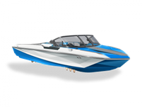 2019 Ski Nautique - White and Blue