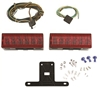 Attwood LED Low-Profile Trailer Light Kit Complete Kit