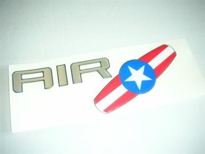 DECAL  AIR   WITH WAKEBOARD FOR ALL AIR BOATS 2004-05