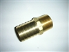"FITTING BRASS - 3/4""MPT X 1"" HB - 3338"