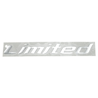 DECAL LIMITED PACKAGE DESIGNATOR-CHROME 2006-