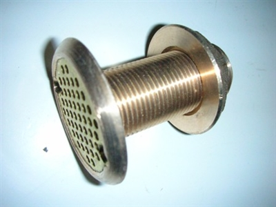 "THRU HULL 3/4"" - BRASS (SURFACE MOUNT) - 3430"