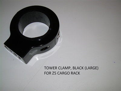TOWER CLAMP BLACK (LARGE) FOR Z5 CARGO RACK 5364