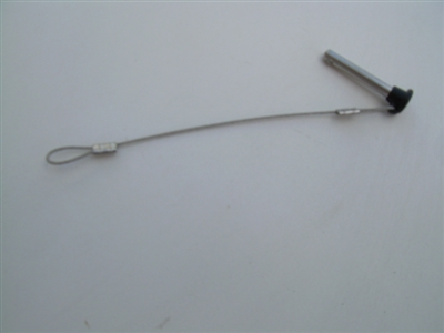 PIN & CABLE FOR Z5 CARGO RACK AND ROSWELL BIMINI CLAMPS AND/OR BRACKETS