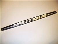DECAL NAUTIQUE DOMED FOR LARGE VENT/INTERIOR BADGE - 80021