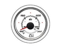Mercury-Mercruiser 79-8M0052863 TEMP GAUGE-WHITE