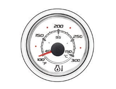 Mercury-Mercruiser 79-8M0054374 OIL TEMP-WHITE