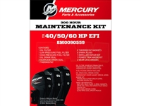Mercury 8M0090559 40‑60 EFI Service Kit 100 Hour