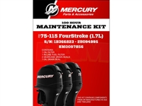 Mercury 8M0097856 75-115 HP Service Kit 100 Hour