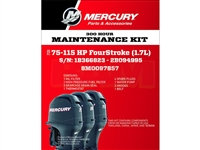 Mercury 8M0097857 75‑115 HP Service Kit 300 Hour