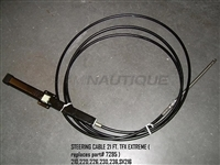 STEERING CABLE, NAUTIQUE G25 - 130337