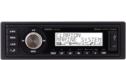 CLARION MARINE DIGITAL MEDIA RECEIVER WITH BUILT-IN BLUETOOTH M508