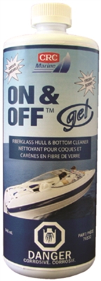 CRC Marine On/Off Gel Hull & Bottom Cleaner, 946ml