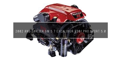 2002 and Earlier GM 5.7 Excalibur 330/ Pro Sport 5.0 Maintenance KitKit