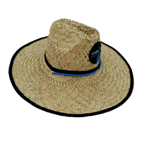 Straw Hat with Miami Nautique Logo