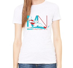 MIAMI NAUTIQUE WOMEN'S SKI T-SHIRT