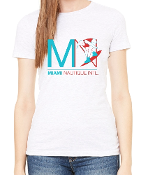 MIAMI NAUTIQUE WOMEN'S WAKEBOARD T-SHIRT