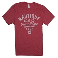 S/S Wheelhouse Tee - Heather Red